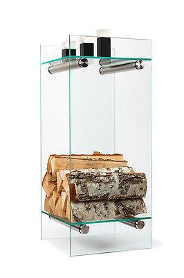 1 Stck Einlegeboden für Kaminholzablage, Holzkorb, Holzspeicher VETROSTYLE