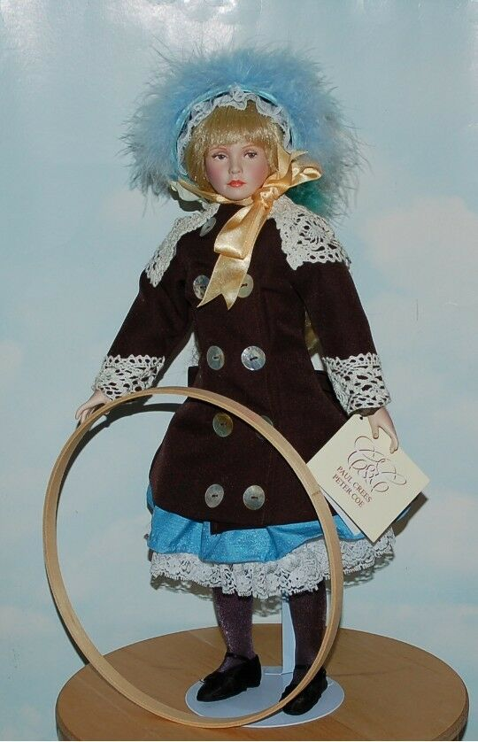 Fleurette  Stunning Porcelain Doll By Paul Crees and Peter Coe