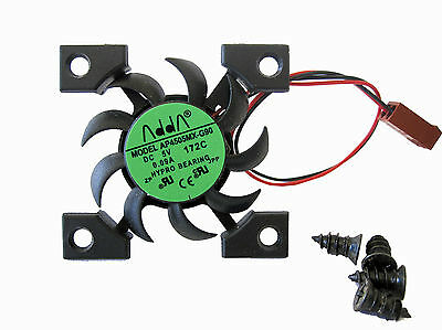 45mm 6mm New Fan 5V 5.2CFM PC CPU Computer Cooling Fluid Brg 2pin 992a*