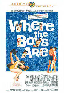 Where-the-Boys-Are-DVD-2011-RARE-CONNIE-FRANCIS-1ST-MOVIE-1960-BRAND-NEW