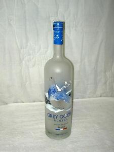 grey goose vodka dummy display unopened empty bottle liters collectible ebay. Black Bedroom Furniture Sets. Home Design Ideas