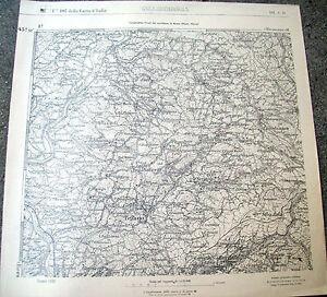 1900-I-G-M-CARTA-GEOGRAFICA-VALLOMBROSA-PELAGO-CASTELNUOVO-FERRANO-BIBBIANO