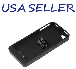 New-Black-2500mAh-External-Backup-Battery-Charger-Case-For-Iphone-4-4G-4S