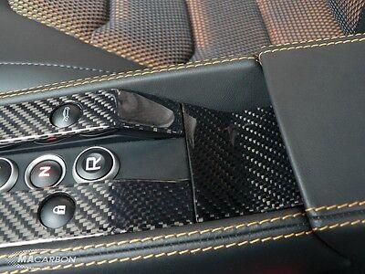 MAcarbon McLaren MP4-12C Carbon Fiber Center Console Rear Plate