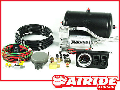 COMPRESSOR, TANK & CONTROL KIT FOR AIR BAG SUSPENSION AND AIR RIDE ASSIST KITS