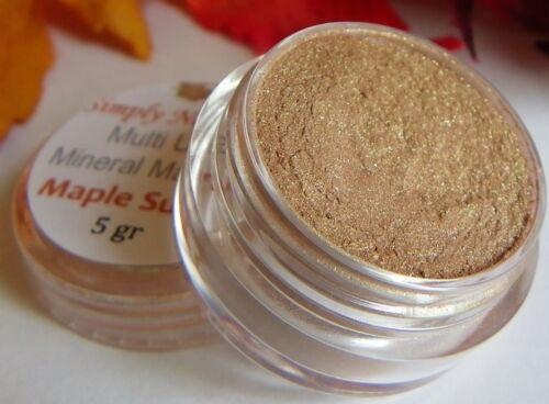 Loose Minerals Makeup EyeShadow MAPLE SUGAR