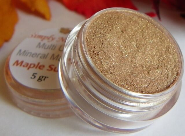 Loose Minerals Makeup EyeShadow MAPLE SUGAR