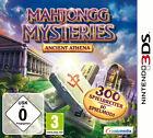 Mahjongg Mysteries: Ancient Athena (Nintendo 3DS, 2012)