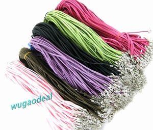 Wholesale-Lot-100-Pcs-Mixed-Colour-Korean-Soft-Velvet-Cord-Necklaces-1