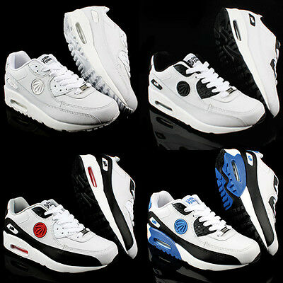 New Paperplanes Mens Max Sports Air Cushion Athlectic Leather Shoes