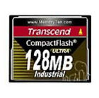 Transcend Ultra Speed Industrial 128 MB 100x - CompactFlash I Card - (TS128MCF100I)