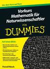 Vorkurs Mathematik fur Naturwissenschaftler Fur Dummies by Thoralf Rasch (Paperback, 2013)