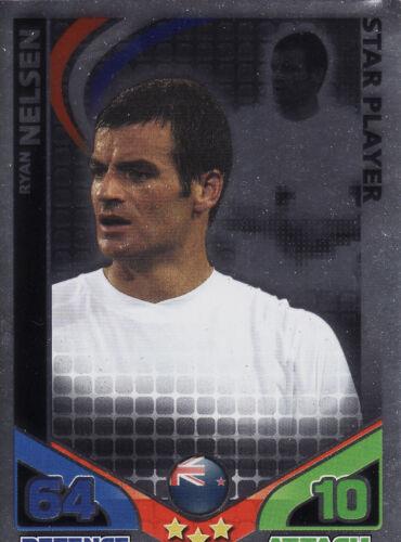 Match Attax World Cup 2010 Star Player /& MOTM Cards Pick From List