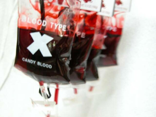 Gothic HALLOWEEN Candy Blood Bag