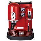 KitchenAid Artisan 5KES100 Empire Red 6 Tassen Espressomaschine