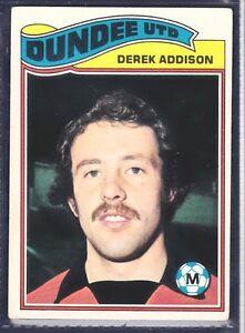 TOPPS-1978-SCOTTISH-FOOTBALLERS-132-DUNDEE-UNITED-DEREK-ADDISON