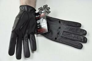 MENS-GENUINE-LEATHER-DRIVING-GLOVES-BEST-QUALITY-FREE-SHIPPING-POLICE-GLOVES