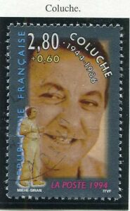 STAMP-TIMBRE-FRANCE-OBLITERE-N-2902-COLUCHE-Photo-non-contractuelle