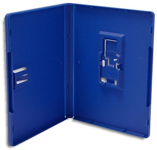 SINGLE-DISC =PS VITA= BLUE Replacement Game Case 2-Pak
