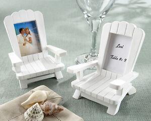72 Beach Theme Mini Adirondack Chair Wedding Place Card