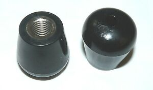 NEW Threaded Rubber Feet or Tips for Bass Drum Spurs Set of 2 Fits Most Spurs