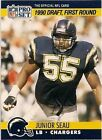 1990 Pro Set Junior Seau San Diego Chargers #673 Football Card
