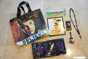 Justin bieber fan club tour vip believe package bag scarf justin bieber fan club tour vip 034 believe m4hsunfo