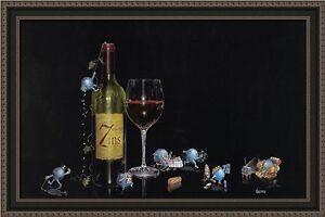 30x20-034-7-Deadly-Zins-by-Michael-Godard-Framed-Art-Print