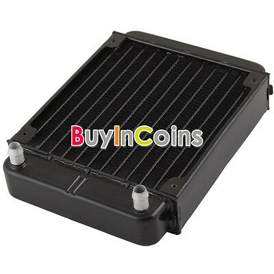 New Aluminum Heat Exchanger Radiator For PC CPU CO2 Laser Water Cool Computer