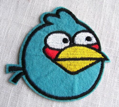 ÉCUSSON PATCH BRODE thermocollant ** 7 x 8 cm ** OISEAUX BIRDS au choix