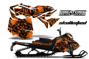 ski-doo rev xm summit snowmobile sled graphics kit wrap creatorx