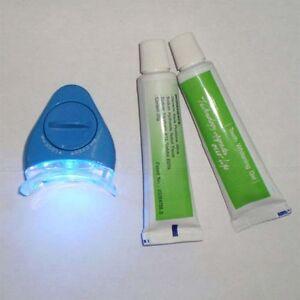 White-Light-Teeth-Whitening-System-Kit-Whitelight-Tooth-Gel-Battery-Tray-Oral