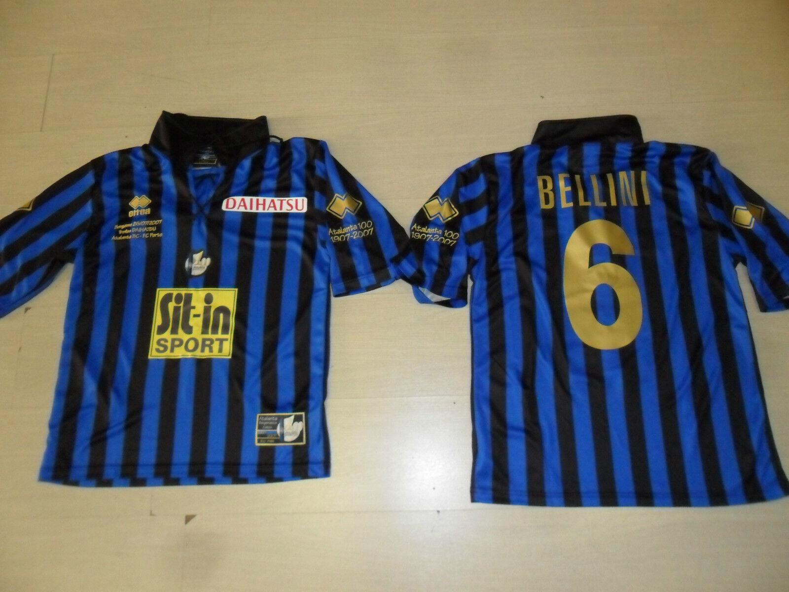 0901  L ATALANTA BELLINI CENTENARIO DAIHATSU CUP MAGLIA MAGLIETTA SHIRT JERSEY