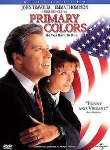Primary-Colors-DVD-2001-JOHN-TRAVOLTA-EMMA-THOMPSON-Zone-Region-2-UK