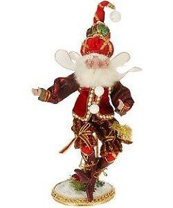 Mark-Roberts-Christmas-2009-GOLFING-FAIRY-Sm-NIB-doll