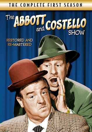The Abbott and Costello Show: The Complete First Season (DVD, 2012, 4-Disc Set)