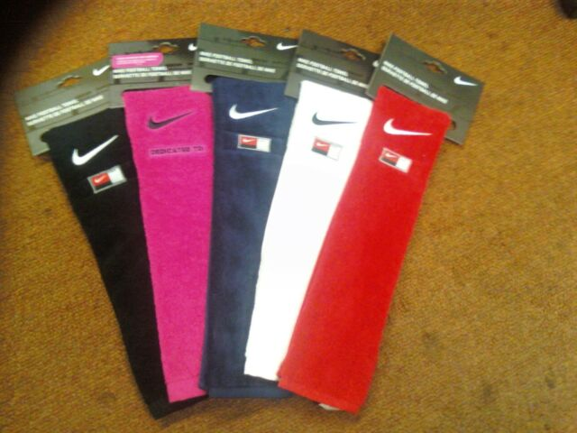 Nike Football Field Towel Pink, Black, Red, Royal, White, Navy