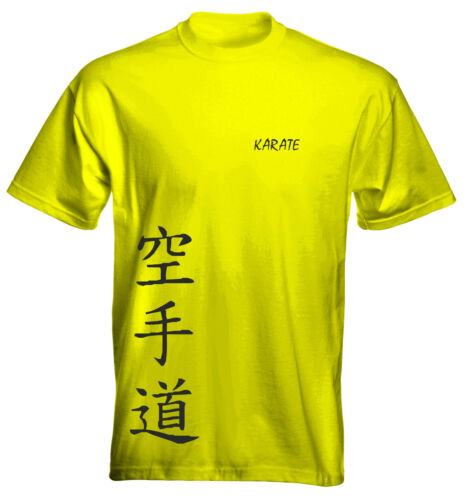 Velocitee Kids T-Shirt Karate Martial Arts Size /& Colour Options UK Seller