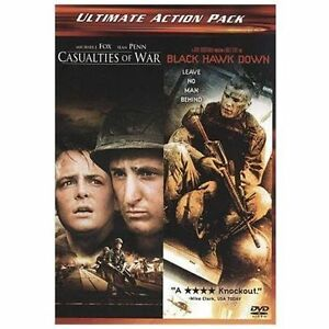 Details about Casualties of War & Black Hawk Down DVD