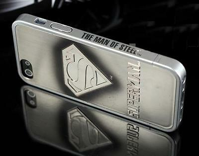 New Hot Cool Superhero 3D SuperMan Hard Case Cover Skin For iPhone 4 4S