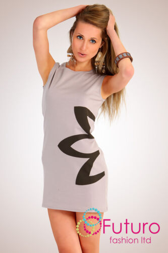 Women/'s Classic /& Elegance Dress with Flower Motive Tunic Style Size 8-16 PA03