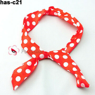 Bunny Ears Ribbon Tie Bow Bendy Wire/wired Hair Scarf Head Wrap Band LDY-HAS-C21