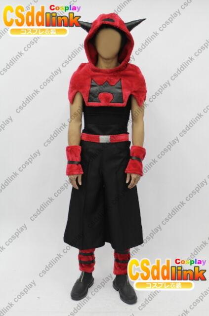 Pokemon Team Magma cosplay costume any sizes