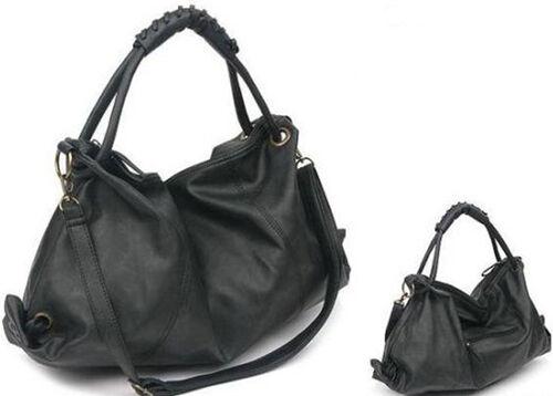 Hot Sale Women Faux Leather Shoulder Bags Retro Messenger Tote Handbag Satchel