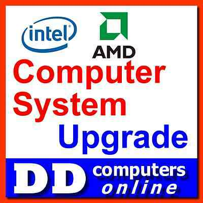 DD Computer System Upgrade from H270 to Intel Z270 Chipset Motherboard
