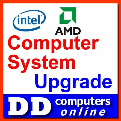 DD Computer System Upgrade to 700W Power Supplier with Large Quiet Cooling Fan