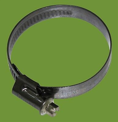 NORMA ALL STAINLESS STEEL HOSE CLAMP / WORM DRIVE 120-140MM
