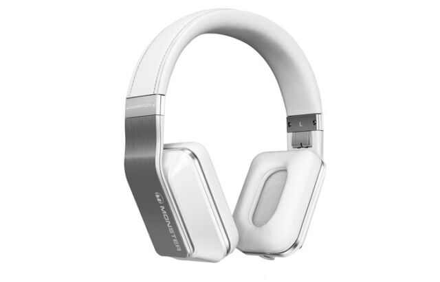 Monster Inspiration Active Noise Canceling Over-Ear Headphones White