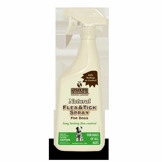 Natural Chemistry Flea and Tick Spray for Dogs 24 oz. Spray Bottle,all Natural
