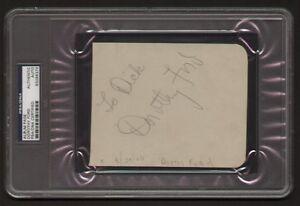 Dorothy-Ford-signed-autograph-auto-Vintage-Album-Page-PSA-Slabbed-d-2010